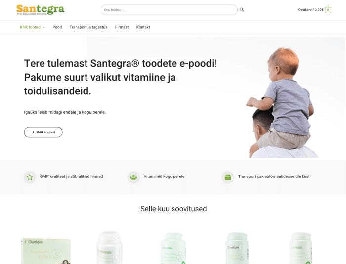 E-poe tegemine - Knowal portfooli Santegra